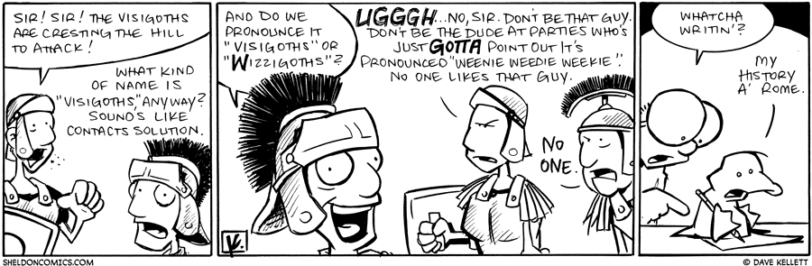 "strip for September / 21 / 2010 - What kind of name is ""Visigoths"" anyway?"
