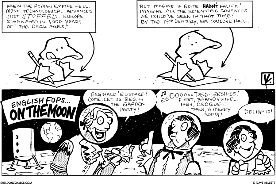 strip for September / 24 / 2010 - What is the next part of Arthur's story?