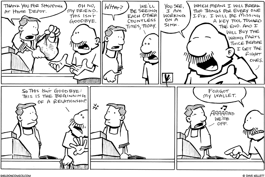 strip for September / 30 / 2010 - Gramp goes to Home Depot and...