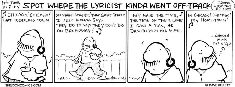 strip for October / 12 / 2010 - Where did the lyricist kinda go off-track?