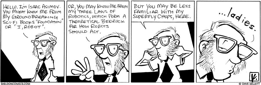 strip for November / 9 / 2010 - Hello. I'm...