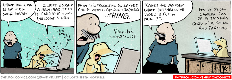 strip for November / 22 / 2010 - What the heck is goin' on over there?