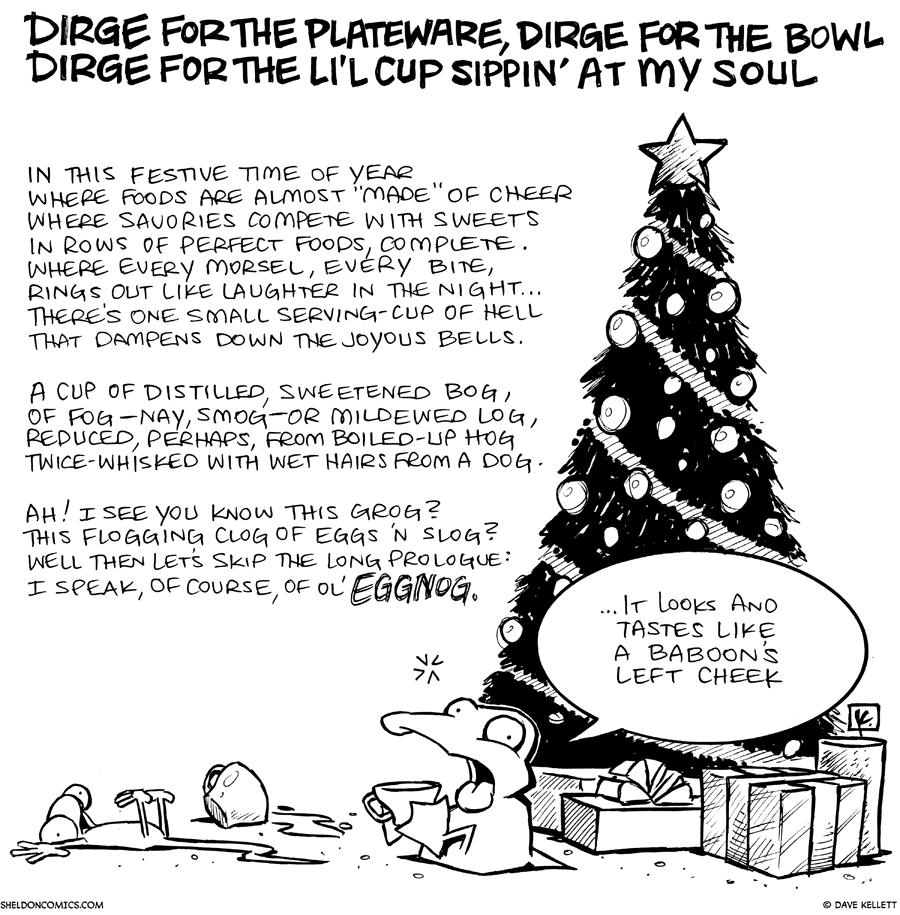strip for December / 23 / 2010 - What time of year is it?
