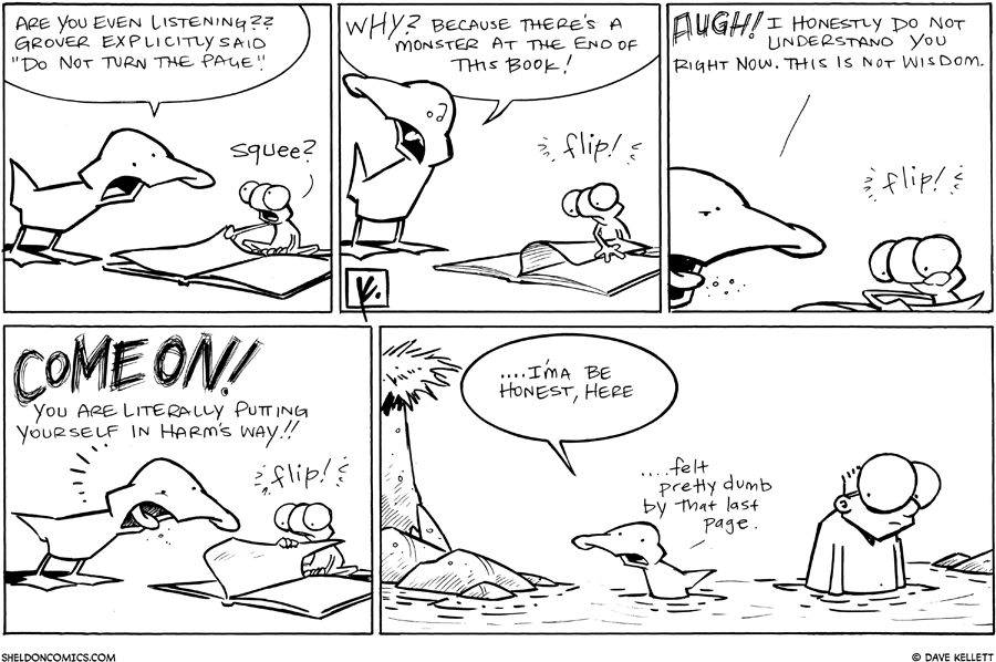 strip for January / 18 / 2011 - Are you even listening?