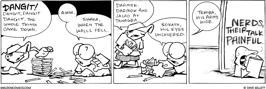 strip for February / 23 / 2011 - What happened Dante?