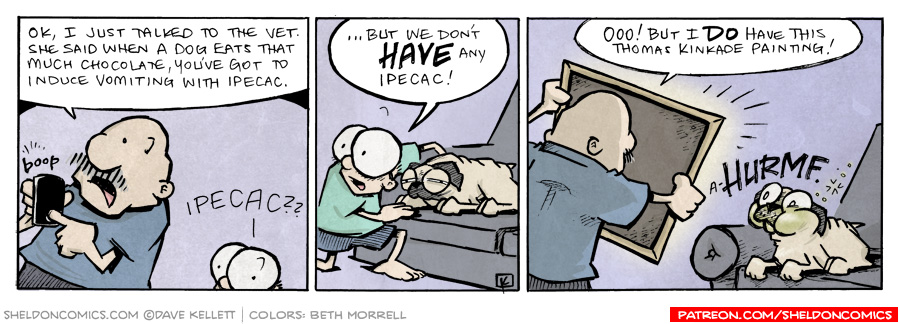 strip for March / 9 / 2011 - What does the Vet say?