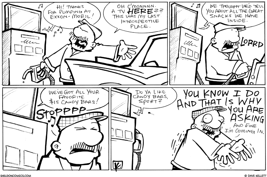 strip for May / 2 / 2011 - Gramp gets gas and the pumps starts to...