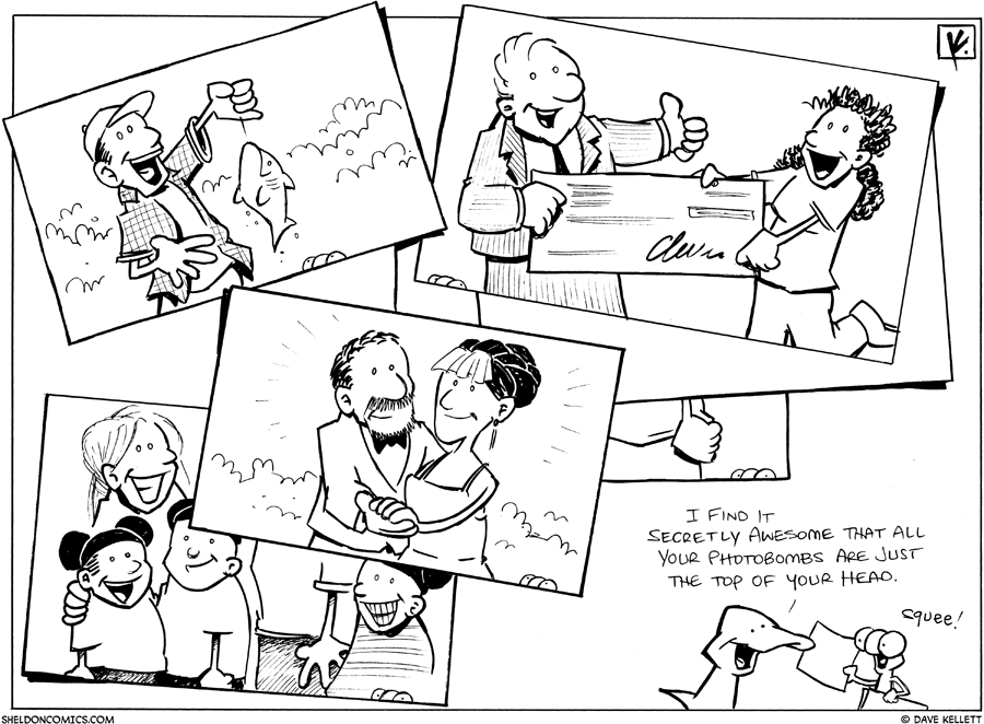 strip for May / 23 / 2011 - Look at these photos because...