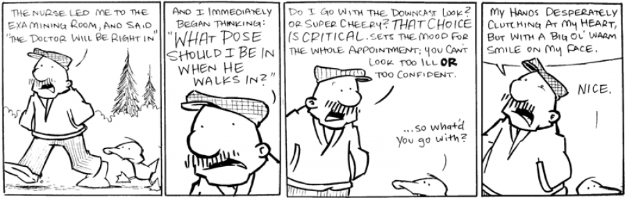 strip for May / 31 / 2011 - What story does Gramp tell?