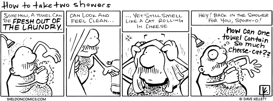 strip for June / 2 / 2011 - How do you take two showers?