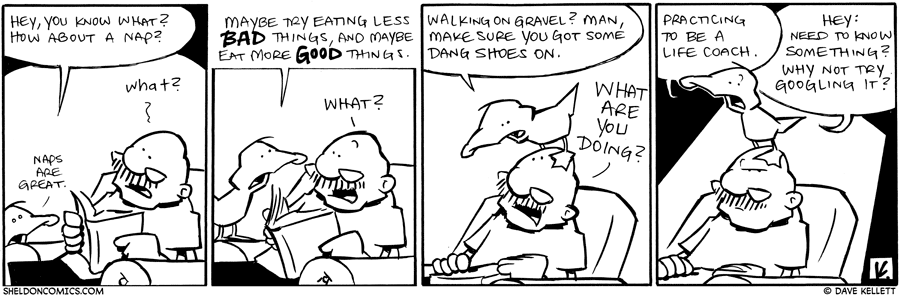 strip for June / 6 / 2011 - How about a nap?