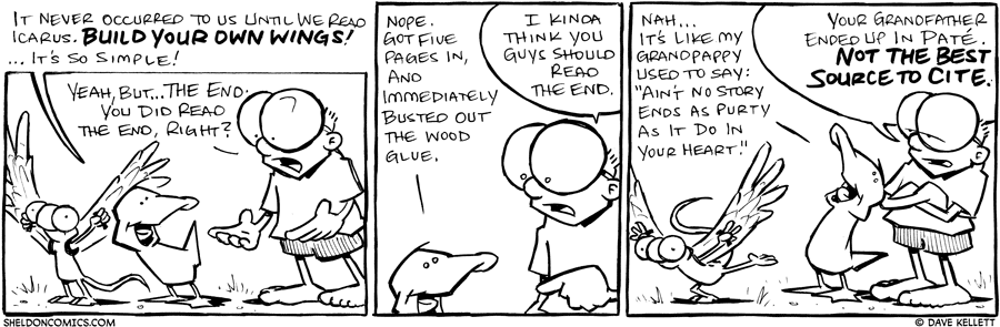 strip for June / 7 / 2011 - What didn't occur to Arthur and Flaco?