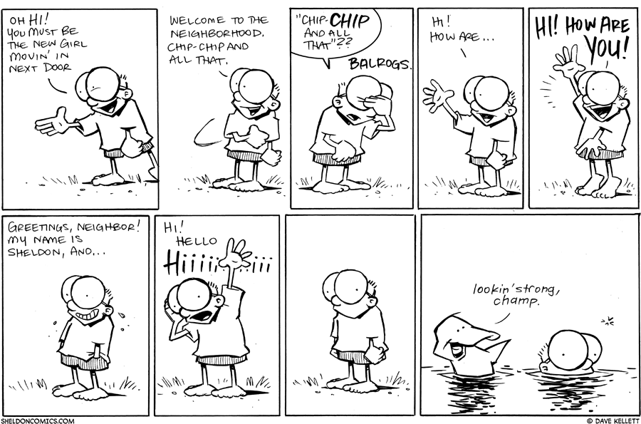 strip for July / 20 / 2011 - Sheldon decides to...