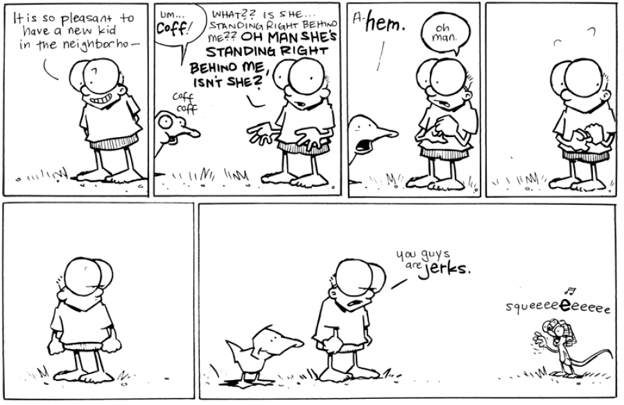 strip for July / 21 / 2011 - Sheldon keeps practicing, but...