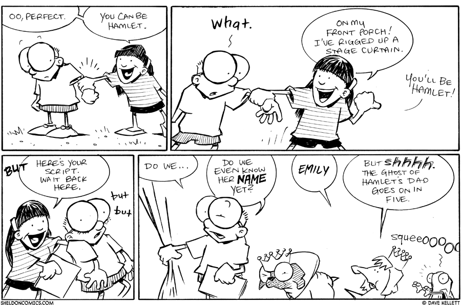 strip for July / 25 / 2011 - Sheldon, you can be...