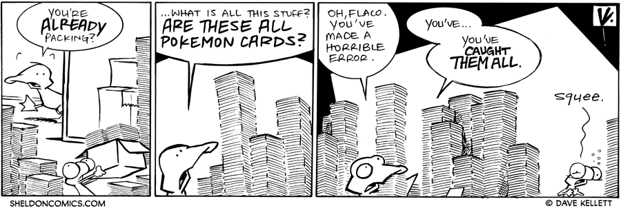 strip for October / 19 / 2011 - Are you already packing Flaco?