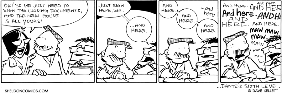 strip for October / 26 / 2011 - So we just need you to...
