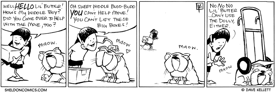 strip for October / 31 / 2011 - How's my widdle boy?