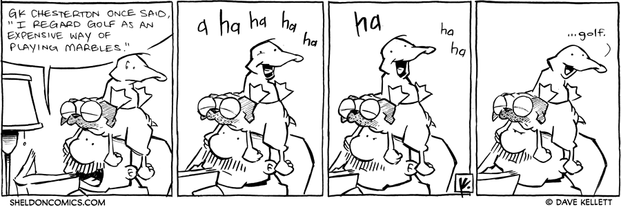 strip for November / 9 / 2011 - What does Gramp quote?