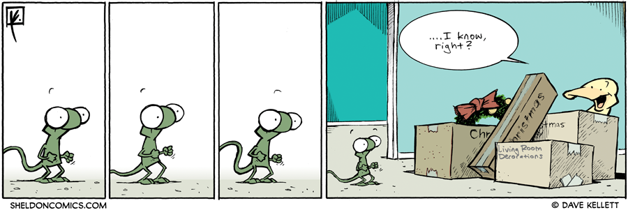 strip for November / 28 / 2011 - What is Flaco excited about?