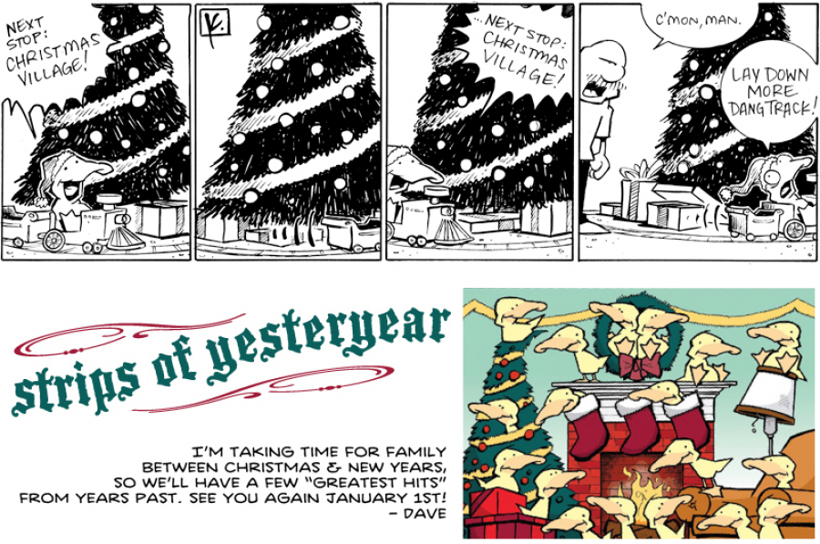 strip for December / 23 / 2011 - Next stop is...