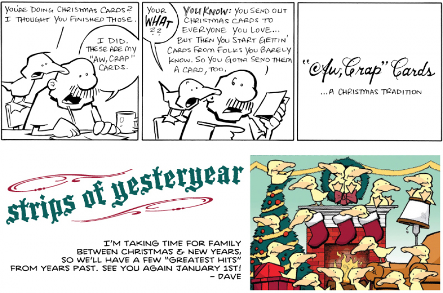 strip for December / 29 / 2011 - I thought you did those...