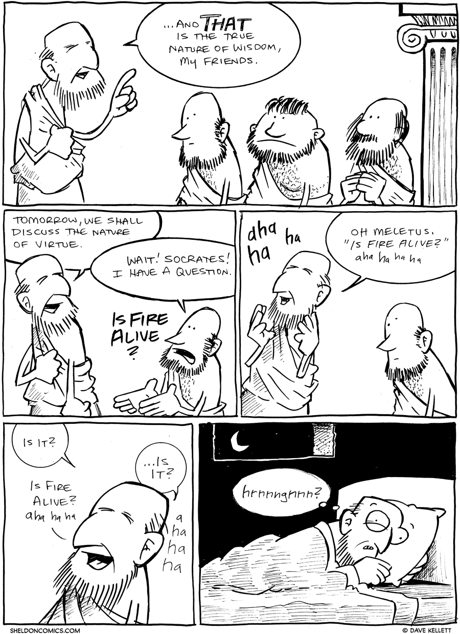 strip for January / 9 / 2012 - Is that the true nature of...