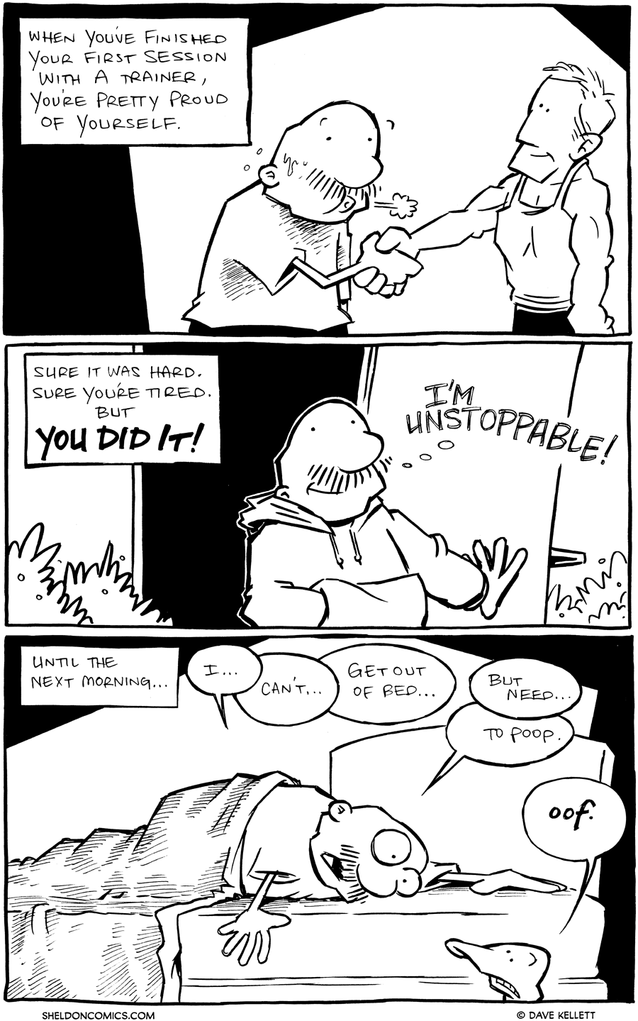 strip for January / 17 / 2012 - When you've finished your...