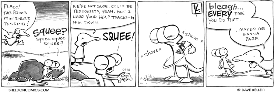 strip for February / 2 / 2012 - The Prime Minister is...