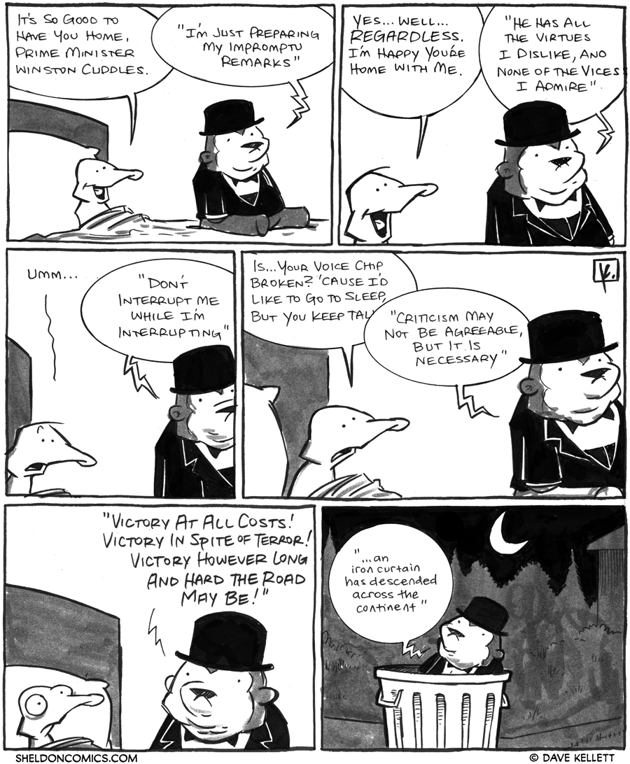 strip for February / 13 / 2012 - It's so good to...