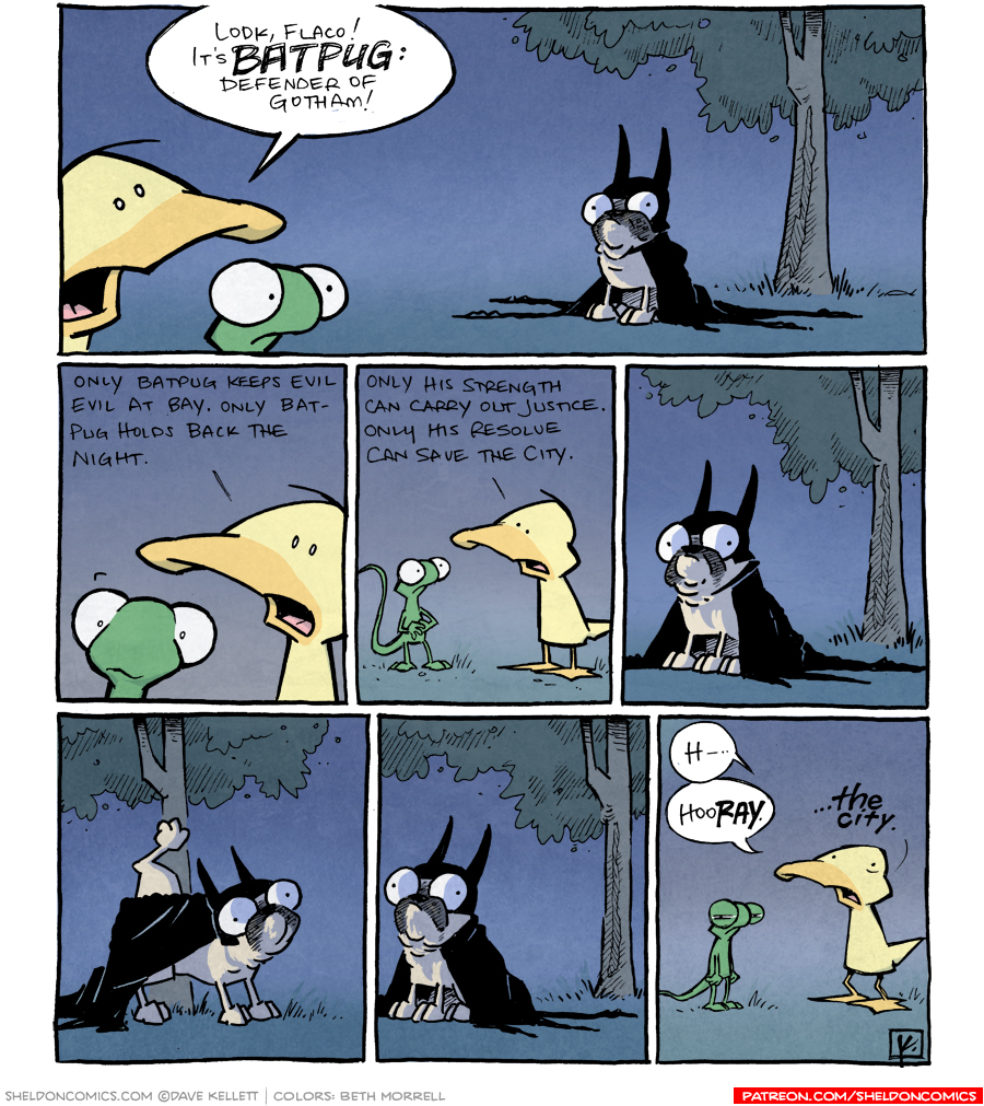 strip for February / 29 / 2012 - Who is Batpug?