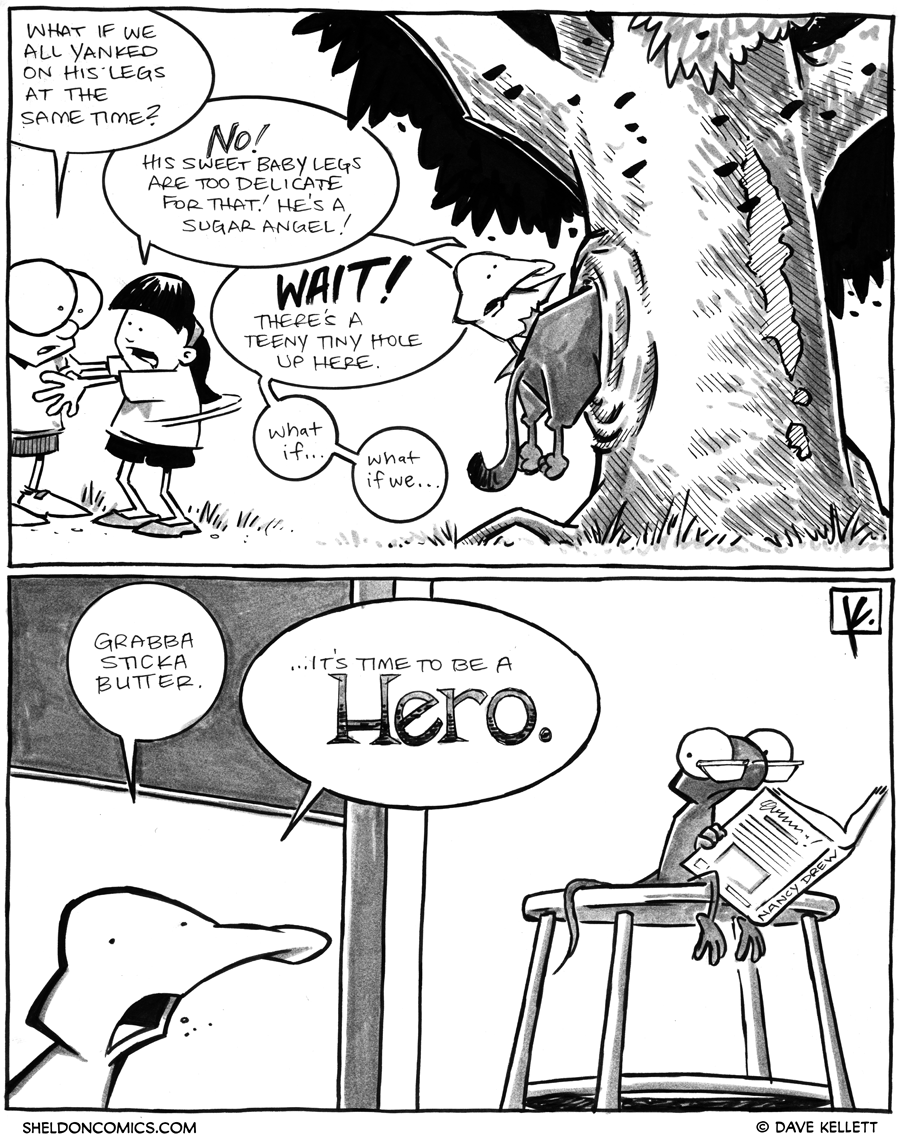 strip for March / 29 / 2012 - What if we all...