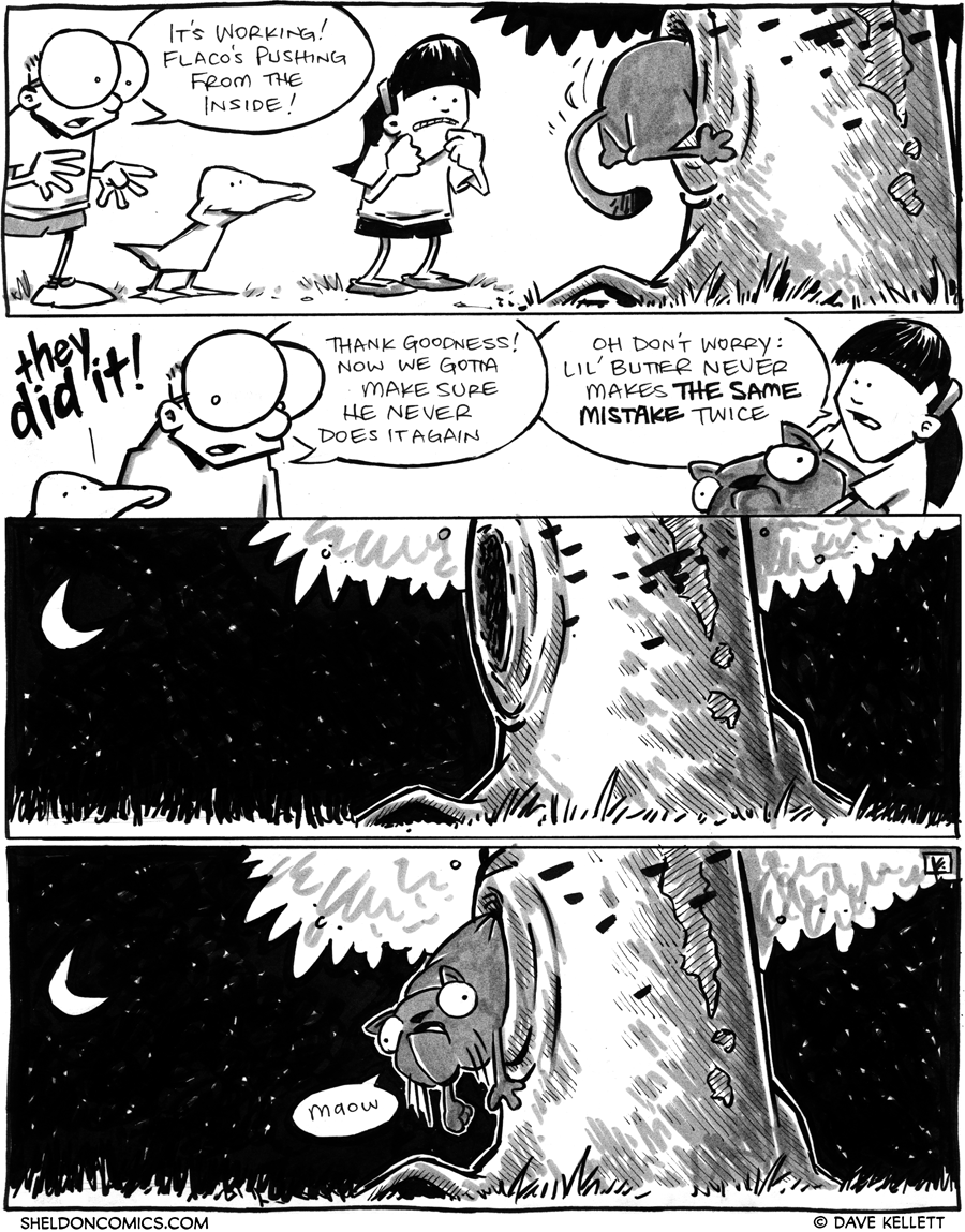 strip for March / 30 / 2012 - Will they get Lil' Butter out?