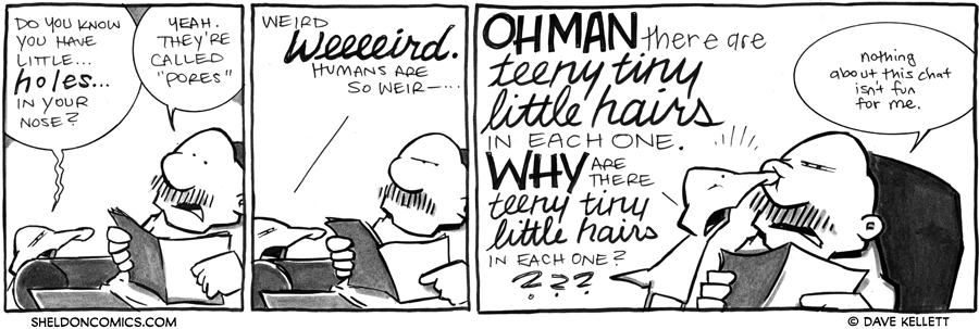strip for April / 3 / 2012 - Do you know you have little...