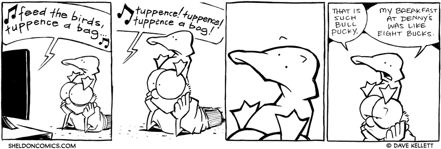 strip for April / 16 / 2012 - What are they watching?