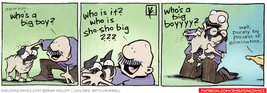strip for May / 2 / 2012 - Who's a big boy?