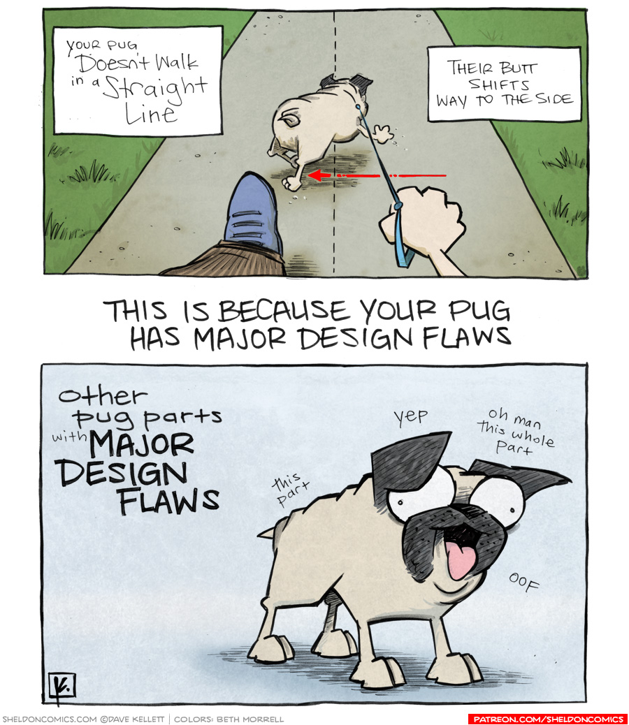 strip for May / 23 / 2012 - Your pug...