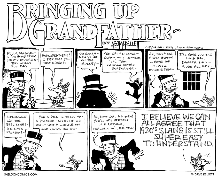 strip for May / 31 / 2012 - Bringing up...
