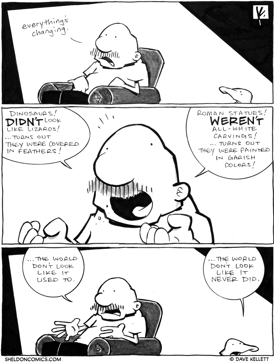 strip for June / 6 / 2012 - What's changing Gramp?