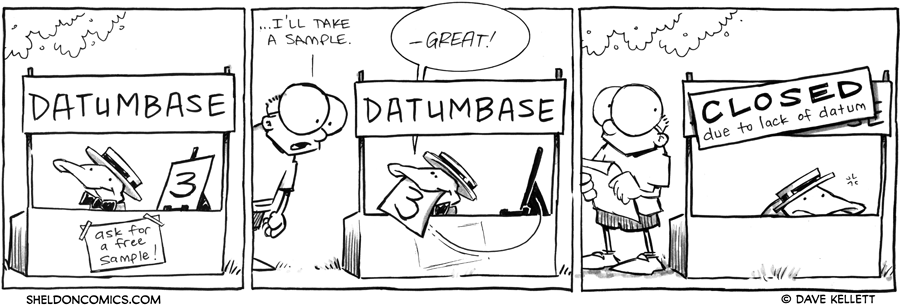 strip for June / 27 / 2012 - Would you like a free sample?