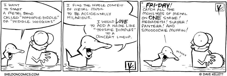 strip for July / 3 / 2012 - What would Arthur name a metal band?