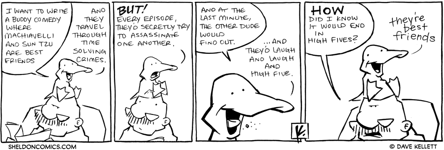 strip for July / 5 / 2012 - What does Arthur want to write?