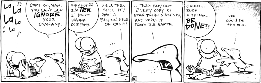 strip for July / 10 / 2012 - Come on man, you can't just...