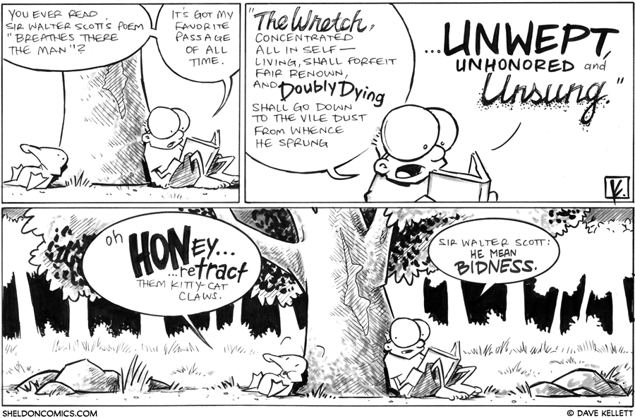 strip for July / 27 / 2012 - You ever read...