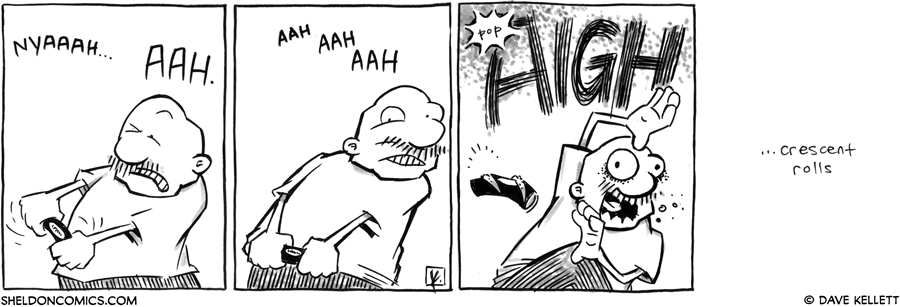 strip for August / 6 / 2012 - What is Gramp struggling with?