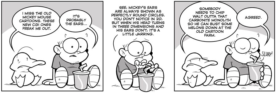 strip for August / 8 / 2012 - What does Arthur miss in this Guest strip?