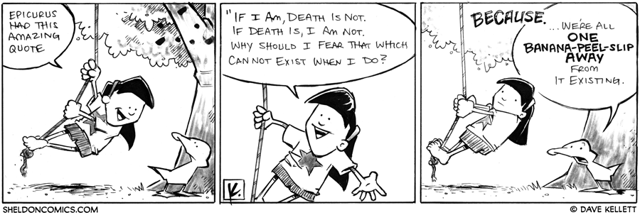 strip for September / 5 / 2012 - What quote does Emily think is amazing?