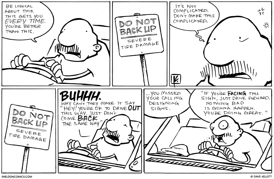 strip for October / 3 / 2012 - What does Gramp tell himself?