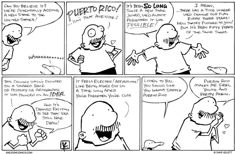 strip for November / 8 / 2012 - Can you believe it?