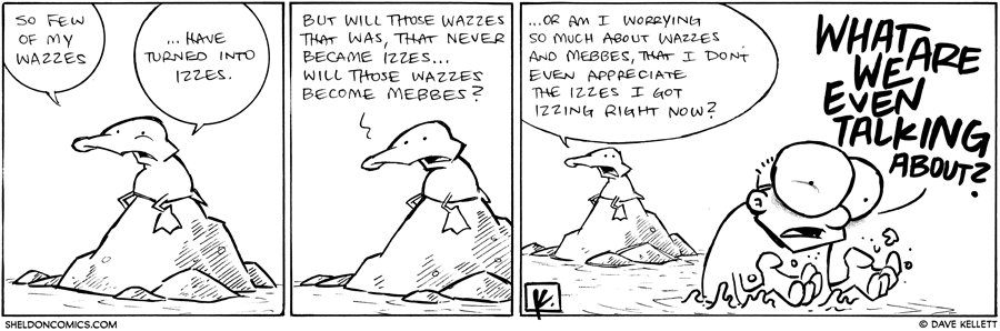 strip for November / 12 / 2012 - So few of my wazzes...